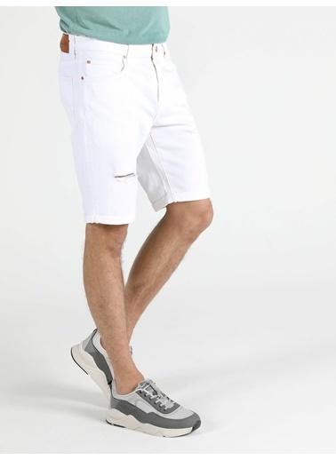 Colin's 045 Davıd Orta Bel Orta Regular Fit Jean Erkek Jean Şort Renkli
